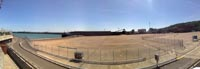 Dover Hoverport being demolished, June 2009 - Panoramic shot of the Dover hoverport apron (James Rowson).